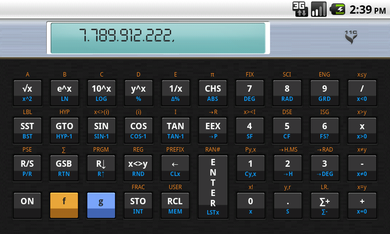 11C Scientific Calculator on Google Play